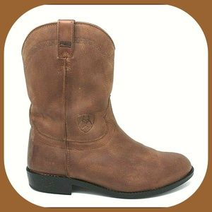 ARIAT Leather Roper Cowboy Western Boots